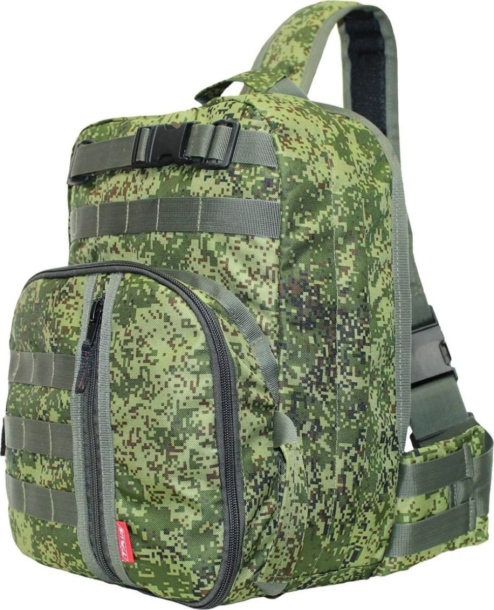Рюкзак тактический Tplus 380, однолямочный, цвет: цифраT002178Одно-лямочная конструкция рюкзака позволяет класть и вынимать вещи без его снятия, для этого достаточно просто передвинуть его со спины на грудь. Тактический рюкзак — это идеальный вариант для выживальщиков и охотников. Рюкзак играет самую важную роль в любом походе, вы должны быть уверены в его надёжности и быть довольны его функциональностью. Несомненно, чтобы удовлетворить эти потребности, вам нужно обязательно приобрести тактический рюкзак.На что следует обратить внимание при выборе тактического рюкзака:- качество материала- функциональность- объем- непромокаемостьРюкзак двух объёмный. Высокопрочный материал с водоотталкивающей поверхностью. Точки наибольшего напряжения швов имеют двойную прошивку. Специальная система набивок, предохраняющая содержимое рюкзака от ударов. Универсальная система крепления подсумков MOLLE позволяет опционально навешивать дополнительные подсумки на рюкзак в соответствии с необходимостью. Оптимальное расположение карманов и отделений, позволяющее иметь быстрый доступ к оборудованию и вещам. В спинке сделан потайной карман для оружия или нетбука (планшета). Удобная загрузка. Рюкзак двух объёмный, в спинке сделан потайной карман для оружия или нетбука(планшета) длиной не более 370 мм.