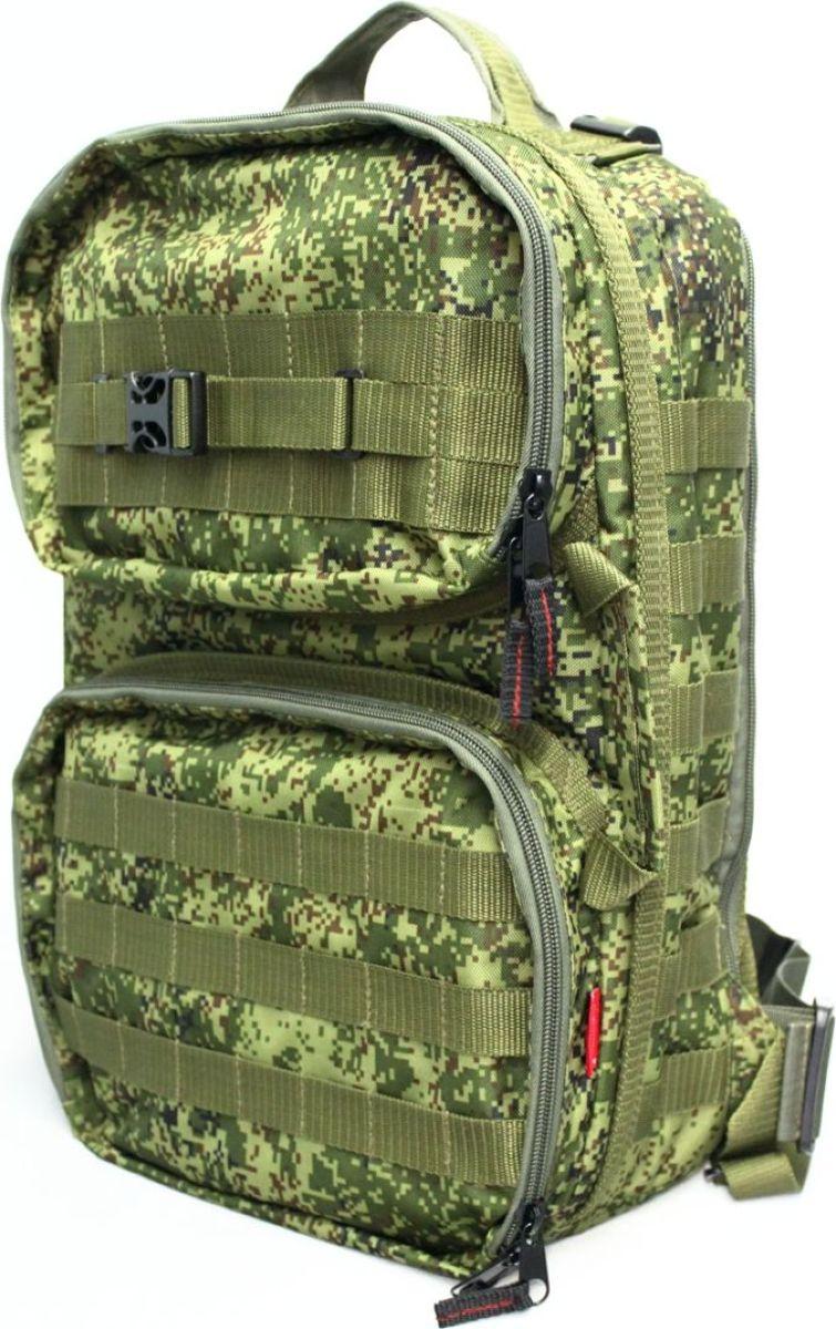 Рюкзак тактический Tplus 430, двухлямочный, цвет: цифраT004963Тактический рюкзак — это идеальный вариант для выживальщиков и охотников. Рюкзак играет самую важную роль в любом походе, вы должны быть уверены в его надёжности и быть довольны его функциональностью. Несомненно, чтобы удовлетворить эти потребности, вам нужно обязательно приобрести тактический рюкзак.На что следует обратить внимание при выборе тактического рюкзака:- качество материала- функциональность- объем- непромокаемостьРюкзак двух объёмный. Высокопрочный материал с водоотталкивающей поверхностью. Точки наибольшего напряжения швов имеют двойную прошивку. Специальная система набивок, предохраняющая содержимое рюкзака от ударов. Универсальная система крепления подсумков MOLLE позволяет опционально навешивать дополнительные подсумки на рюкзак в соответствии с необходимостью. Оптимальное расположение карманов и отделений, позволяющее иметь быстрый доступ к оборудованию и вещам. В спинке сделан потайной карман для оружия или нетбука (планшета). Удобная загрузка. Рюкзак двух объёмный, в спинке сделан потайной карман для оружия или нетбука(планшета) длиной не более 410 мм.