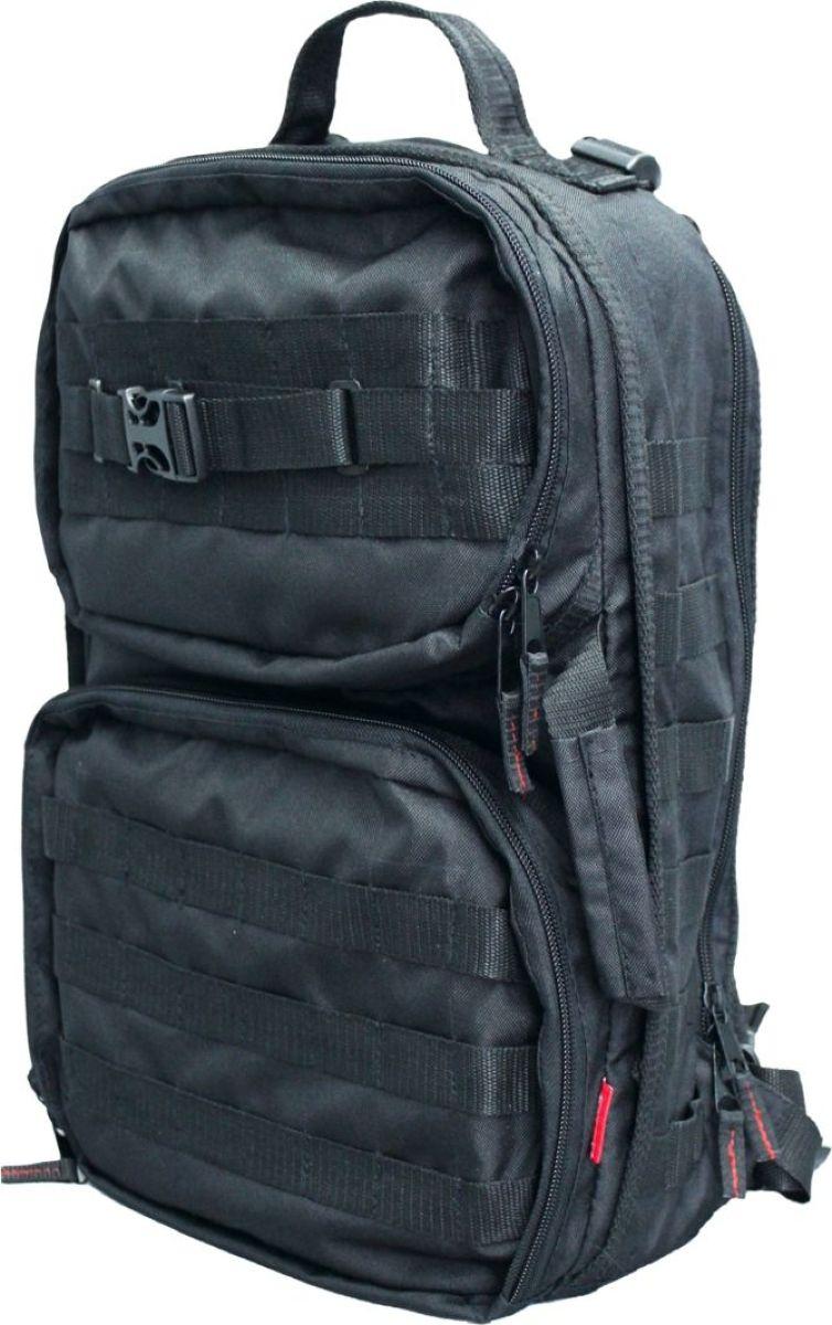 Рюкзак тактический Tplus 430, однолямочный, цвет: черныйT007162Одно-лямочная конструкция рюкзака позволяет класть и вынимать вещи без его снятия, для этого достаточно просто передвинуть его со спины на грудь. Тактический рюкзак — это идеальный вариант для выживальщиков и охотников. Рюкзак играет самую важную роль в любом походе, вы должны быть уверены в его надёжности и быть довольны его функциональностью. Несомненно, чтобы удовлетворить эти потребности, вам нужно обязательно приобрести тактический рюкзак.На что следует обратить внимание при выборе тактического рюкзака:- качество материала- функциональность- объем- непромокаемостьРюкзак двух объёмный. Высокопрочный материал с водоотталкивающей поверхностью. Точки наибольшего напряжения швов имеют двойную прошивку. Специальная система набивок, предохраняющая содержимое рюкзака от ударов. Универсальная система крепления подсумков MOLLE позволяет опционально навешивать дополнительные подсумки на рюкзак в соответствии с необходимостью. Оптимальное расположение карманов и отделений, позволяющее иметь быстрый доступ к оборудованию и вещам. В спинке сделан потайной карман для оружия или нетбука (планшета). Удобная загрузка. Рюкзак двух объёмный, в спинке сделан потайной карман для оружия или нетбука(планшета) длиной не более 410 мм.