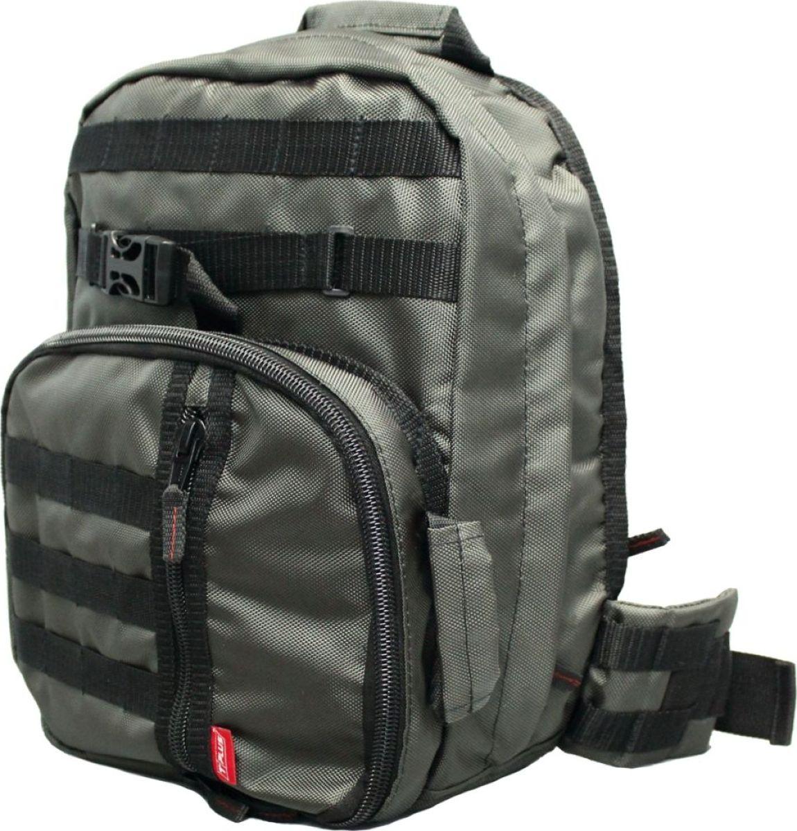 Рюкзак тактический Tplus 380, однолямочный, цвет: хакиT007576Одно-лямочная конструкция рюкзака позволяет класть и вынимать вещи без его снятия, для этого достаточно просто передвинуть его со спины на грудь. Тактический рюкзак — это идеальный вариант для выживальщиков и охотников. Рюкзак играет самую важную роль в любом походе, вы должны быть уверены в его надёжности и быть довольны его функциональностью. Несомненно, чтобы удовлетворить эти потребности, вам нужно обязательно приобрести тактический рюкзак.На что следует обратить внимание при выборе тактического рюкзака:- качество материала- функциональность- объем- непромокаемостьРюкзак двух объёмный. Высокопрочный материал с водоотталкивающей поверхностью. Точки наибольшего напряжения швов имеют двойную прошивку. Специальная система набивок, предохраняющая содержимое рюкзака от ударов. Универсальная система крепления подсумков MOLLE позволяет опционально навешивать дополнительные подсумки на рюкзак в соответствии с необходимостью. Оптимальное расположение карманов и отделений, позволяющее иметь быстрый доступ к оборудованию и вещам. В спинке сделан потайной карман для оружия или нетбука (планшета). Удобная загрузка. Рюкзак двух объёмный, в спинке сделан потайной карман для оружия или нетбука(планшета) длиной не более 370 мм.