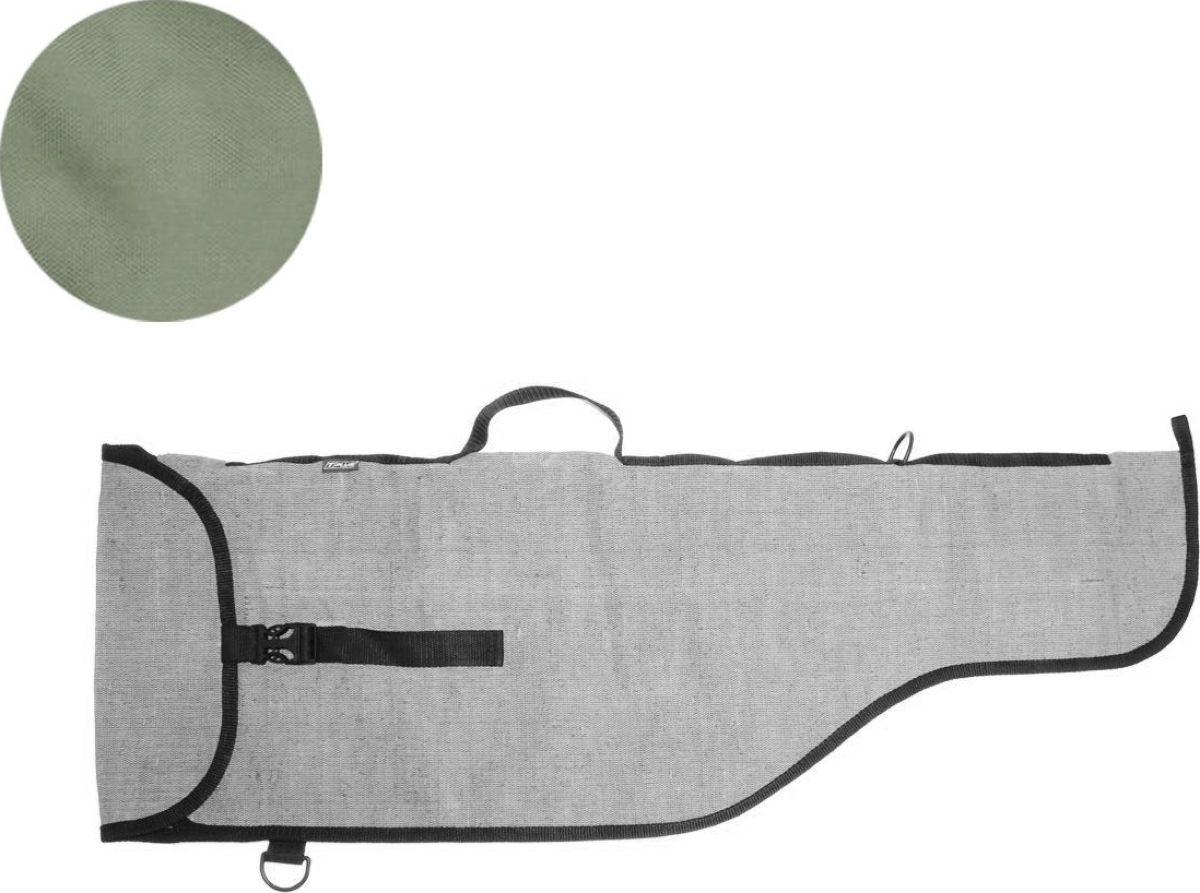 Чехол для оружия СКС 90 Tplus, цвет: хакиT009661Предназначен для хранения и транспортировки оружия. Чехол имеет одно отделение, выполнен из прочной ткани, которая не промокает, не истирается и легко очищается от загрязнения.