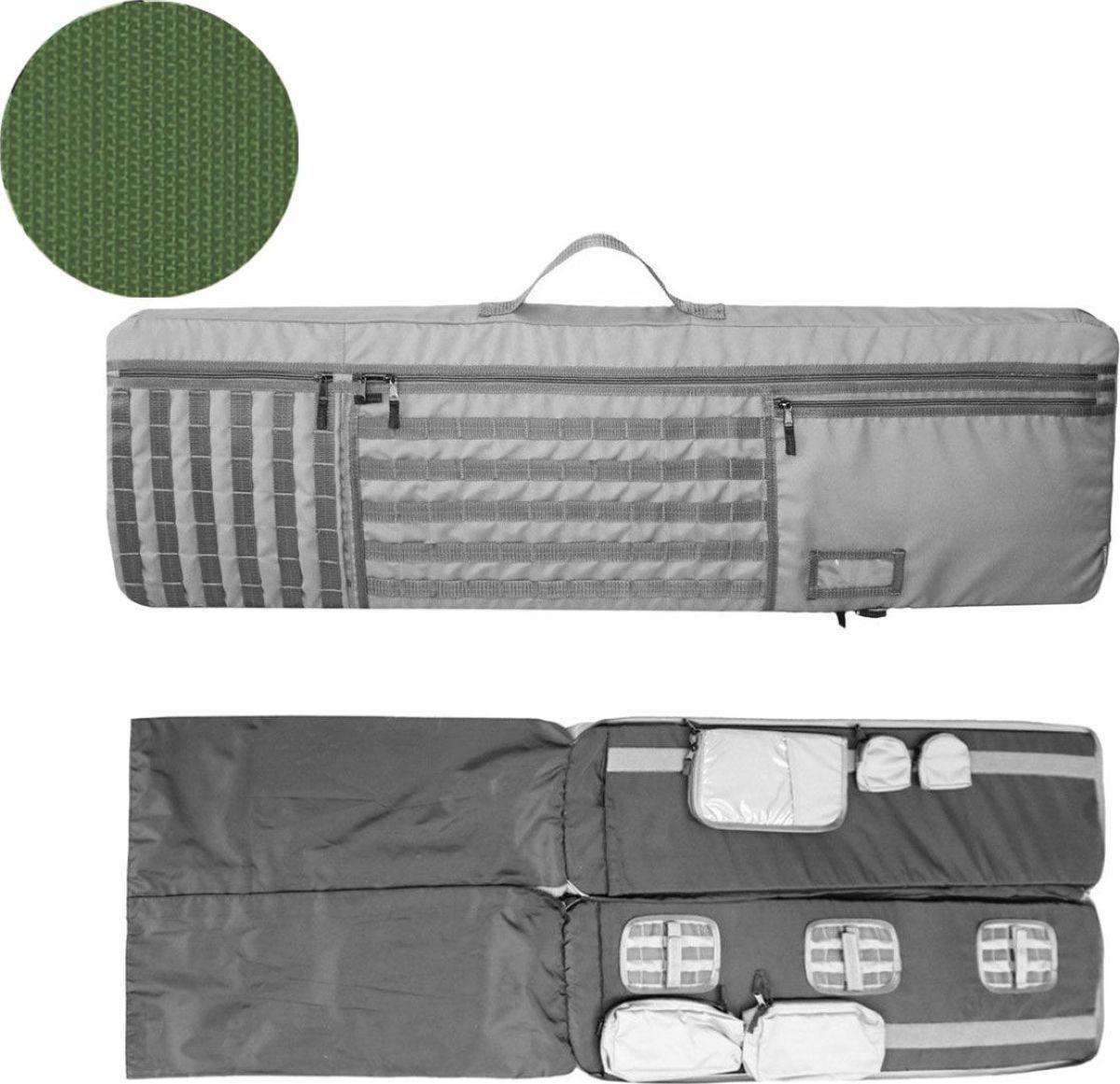 Чехол для оружия Tplus, 1200 х 350 х 50 мм, цвет: темно-зеленый