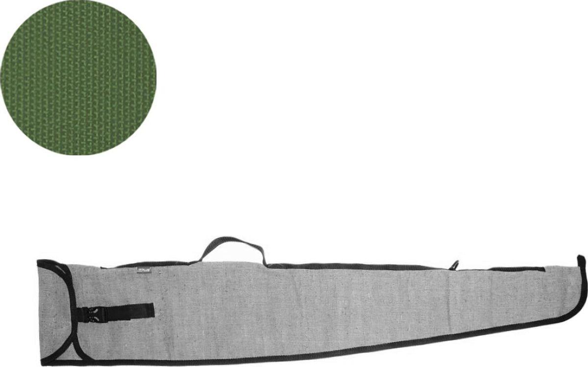Чехол для оружия Tplus 110, цвет: темно-зеленыйT009912Предназначен для хранения и транспортировки оружия. Чехол имеет одно отделение, выполнен из прочной ткани, которая не промокает, не истирается и легко очищается от загрязнения.