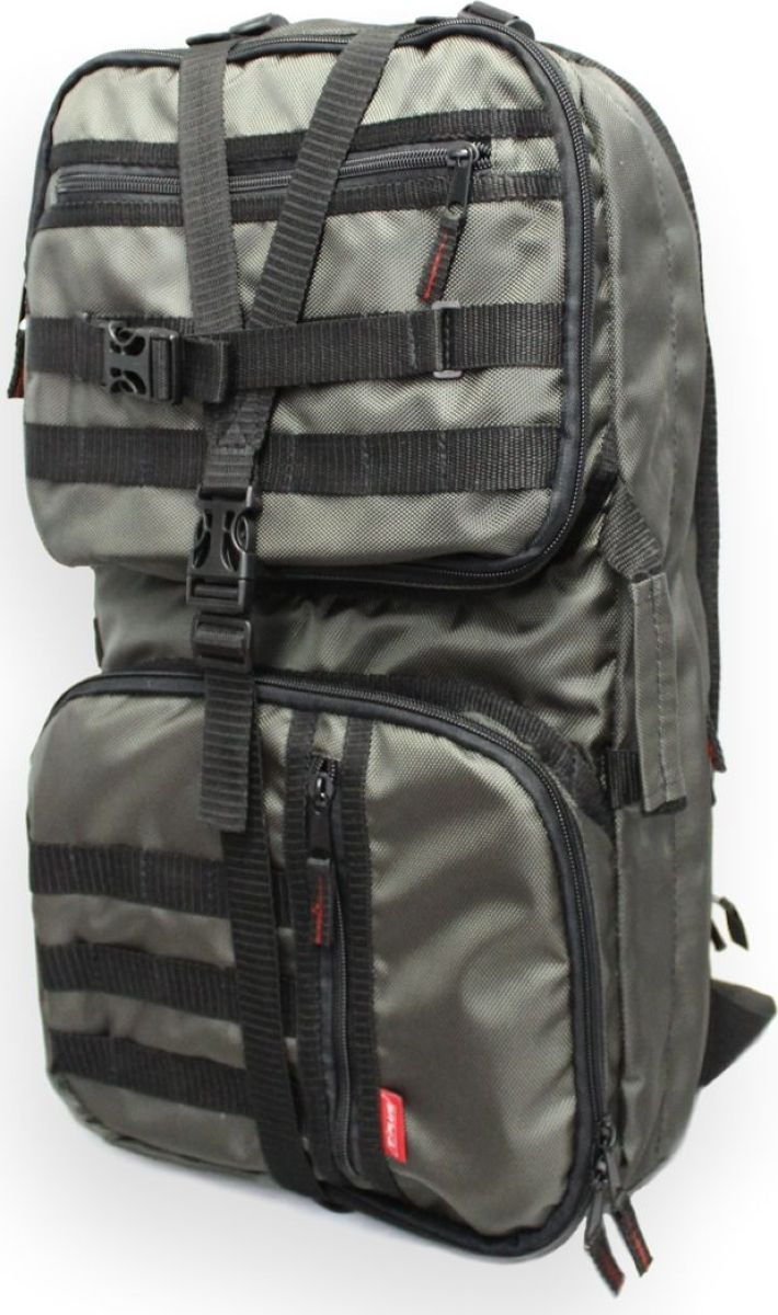 Рюкзак тактический Tplus 600, двухлямочный, цвет: хакиT010332Тактический рюкзак — это идеальный вариант для выживальщиков и охотников. Рюкзак играет самую важную роль в любом походе, вы должны быть уверены в его надёжности и быть довольны его функциональностью. Несомненно, чтобы удовлетворить эти потребности, вам нужно обязательно приобрести тактический рюкзак.На что следует обратить внимание при выборе тактического рюкзака:- качество материала- функциональность- объем- непромокаемостьРюкзак двух объёмный. Высокопрочный материал с водоотталкивающей поверхностью. Точки наибольшего напряжения швов имеют двойную прошивку. Специальная система набивок, предохраняющая содержимое рюкзака от ударов. Универсальная система крепления подсумков MOLLE позволяет опционально навешивать дополнительные подсумки на рюкзак в соответствии с необходимостью. Оптимальное расположение карманов и отделений, позволяющее иметь быстрый доступ к оборудованию и вещам. В спинке сделан потайной карман для оружия или нетбука (планшета). Удобная загрузка. Рюкзак двух объёмный, в спинке сделан потайной карман для оружия или нетбука(планшета) длиной не более 570 мм.