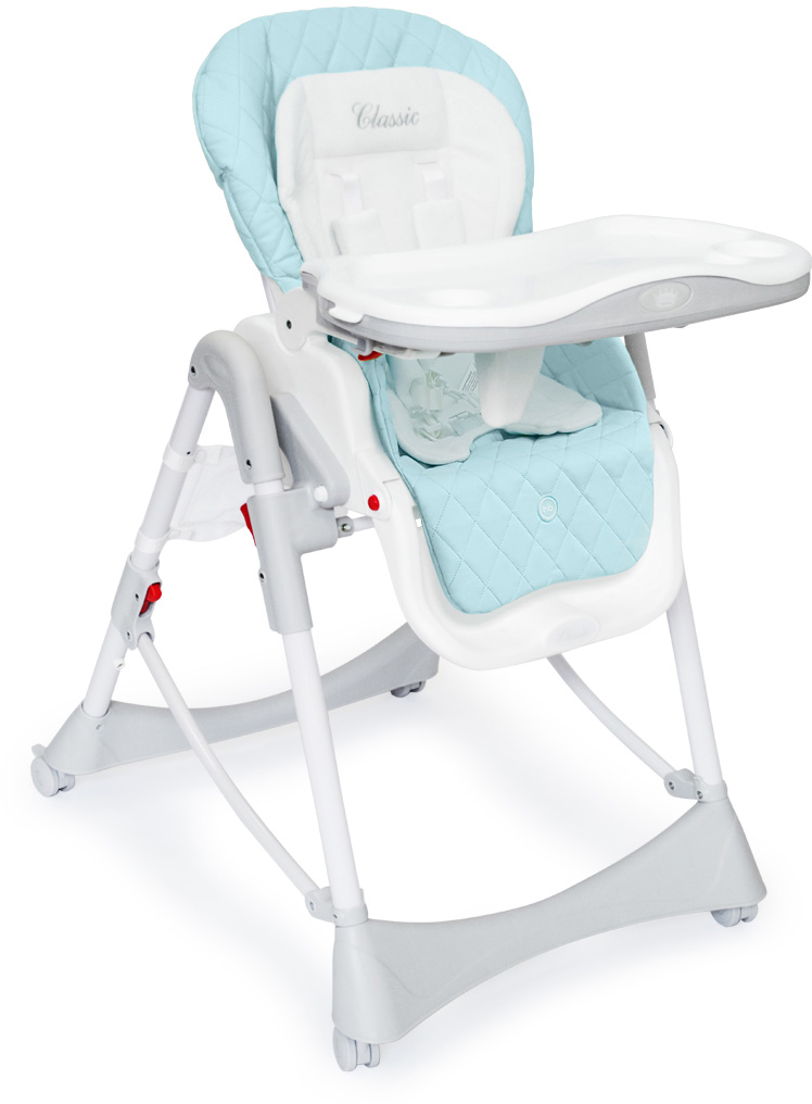 Стульчик для кормления Happy Baby William Blue sweet baby стульчик для кормления luxor classic arancione