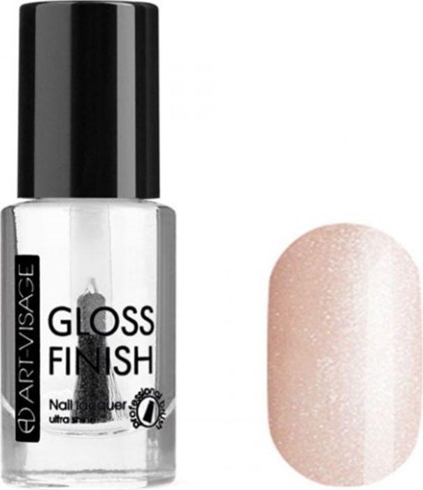 Art-Visage Лак для ногтей Gloss Finish nail lacquer, тон 105, 8,5 мл042591Новейшая гелевая текстура лака обеспечивает плотное нанесение, высокую стойкость, а также длительный мокрый эффект цвета на ваших ногтях! Красивый глянцевый цвет после первого нанесения. Безупречные ногти минимум 4 дня. Без формальдегида и толуола.