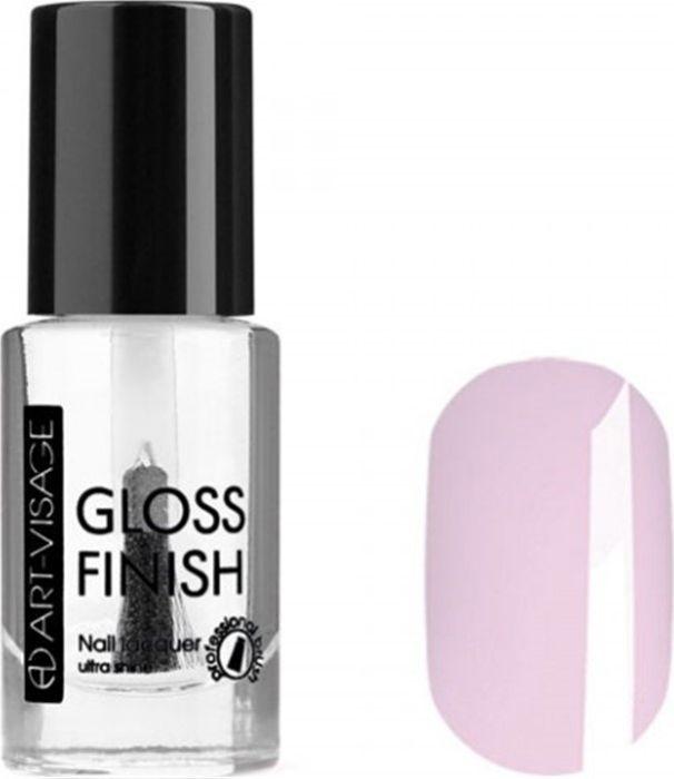 Art-Visage Лак для ногтей Gloss Finish nail lacquer, тон 106, 8,5 мл042614Новейшая гелевая текстура лака обеспечивает плотное нанесение, высокую стойкость, а также длительный мокрый эффект цвета на ваших ногтях! Красивый глянцевый цвет после первого нанесения. Безупречные ногти минимум 4 дня. Без формальдегида и толуола.