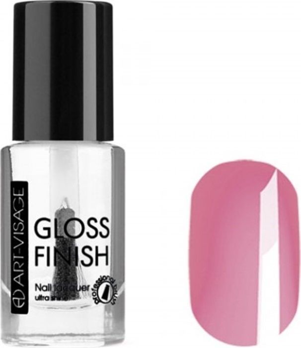 Art-Visage Лак для ногтей Gloss Finish nail lacquer, тон 107, 8,5 мл042638Новейшая гелевая текстура лака обеспечивает плотное нанесение, высокую стойкость, а также длительный мокрый эффект цвета на ваших ногтях! Красивый глянцевый цвет после первого нанесения. Безупречные ногти минимум 4 дня. Без формальдегида и толуола.Как ухаживать за ногтями: советы эксперта. Статья OZON Гид