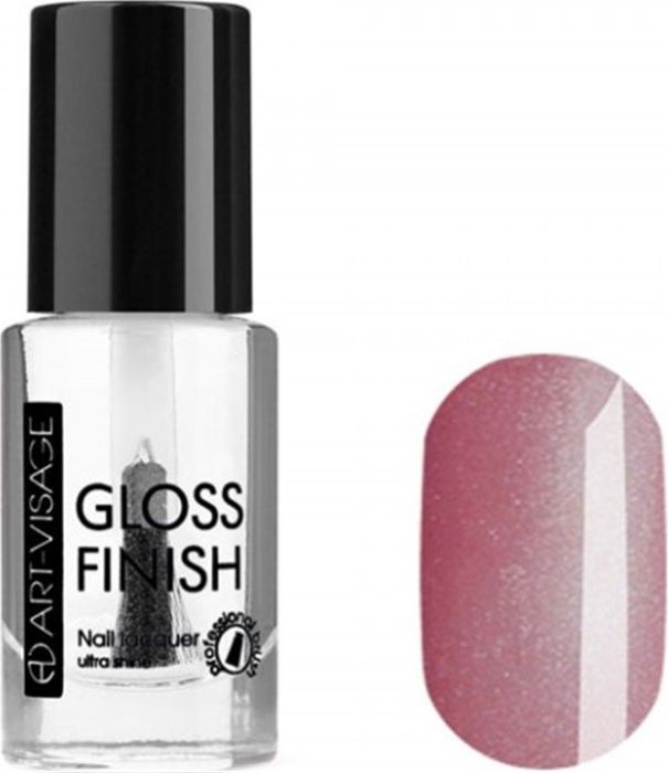 Art-Visage Лак для ногтей Gloss Finish nail lacquer, тон 108, 8,5 мл042652Новейшая гелевая текстура лака обеспечивает плотное нанесение, высокую стойкость, а также длительный мокрый эффект цвета на ваших ногтях! Красивый глянцевый цвет после первого нанесения. Безупречные ногти минимум 4 дня. Без формальдегида и толуола.