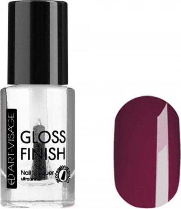 Art-Visage Лак для ногтей Gloss Finish nail lacquer, тон 111, 8,5 мл042713Новейшая гелевая текстура лака обеспечивает плотное нанесение, высокую стойкость, а также длительный мокрый эффект цвета на ваших ногтях! Красивый глянцевый цвет после первого нанесения. Безупречные ногти минимум 4 дня. Без формальдегида и толуола.Как ухаживать за ногтями: советы эксперта. Статья OZON Гид