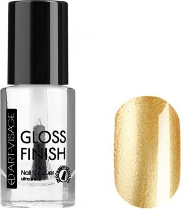 Art-Visage Лак для ногтей Gloss Finish nail lacquer, тон 116, 8,5 мл042812Новейшая гелевая текстура лака обеспечивает плотное нанесение, высокую стойкость, а также длительный мокрый эффект цвета на ваших ногтях! Красивый глянцевый цвет после первого нанесения. Безупречные ногти минимум 4 дня. Без формальдегида и толуола.