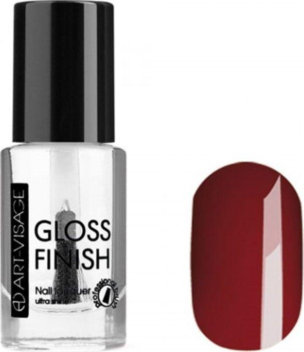 Art-Visage Лак для ногтей Gloss Finish nail lacquer, тон 118, 8,5 мл042850Новейшая гелевая текстура лака обеспечивает плотное нанесение, высокую стойкость, а также длительный мокрый эффект цвета на ваших ногтях! Красивый глянцевый цвет после первого нанесения. Безупречные ногти минимум 4 дня. Без формальдегида и толуола.Как ухаживать за ногтями: советы эксперта. Статья OZON Гид
