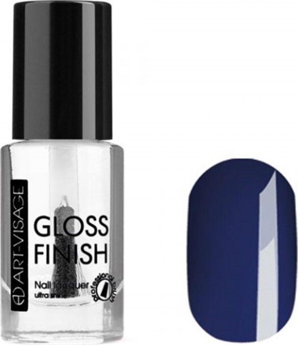 Art-Visage Лак для ногтей Gloss Finish nail lacquer, тон 121, 8,5 мл042911Новейшая гелевая текстура лака обеспечивает плотное нанесение, высокую стойкость, а также длительный мокрый эффект цвета на ваших ногтях! Красивый глянцевый цвет после первого нанесения. Безупречные ногти минимум 4 дня. Без формальдегида и толуола.