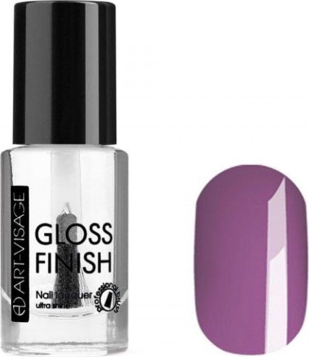 Art-Visage Лак для ногтей Gloss Finish nail lacquer, тон 122, 8,5 мл042935Новейшая гелевая текстура лака обеспечивает плотное нанесение, высокую стойкость, а также длительный мокрый эффект цвета на ваших ногтях! Красивый глянцевый цвет после первого нанесения. Безупречные ногти минимум 4 дня. Без формальдегида и толуола.