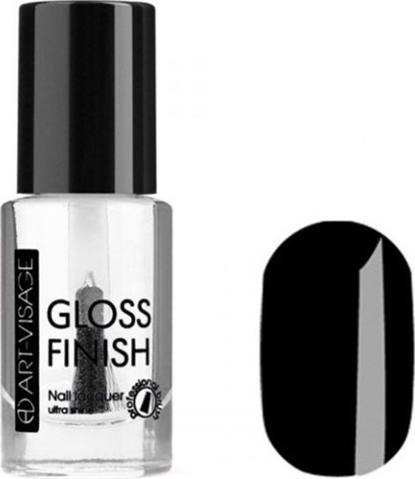 Art-Visage Лак для ногтей Gloss Finish nail lacquer, тон 123, 8,5 мл042959Новейшая гелевая текстура лака обеспечивает плотное нанесение, высокую стойкость, а также длительный мокрый эффект цвета на ваших ногтях! Красивый глянцевый цвет после первого нанесения. Безупречные ногти минимум 4 дня. Без формальдегида и толуола.