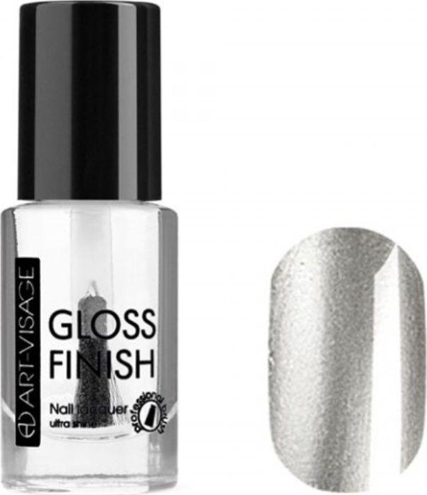 Art-Visage Лак для ногтей Gloss Finish nail lacquer, тон 124, 8,5 мл042973Новейшая гелевая текстура лака обеспечивает плотное нанесение, высокую стойкость, а также длительный мокрый эффект цвета на ваших ногтях! Красивый глянцевый цвет после первого нанесения. Безупречные ногти минимум 4 дня. Без формальдегида и толуола.