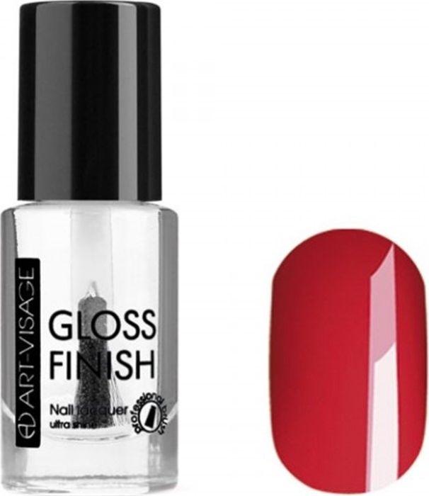 Art-Visage Лак для ногтей Gloss Finish nail lacquer, тон 125, 8,5 мл042997Новейшая гелевая текстура лака обеспечивает плотное нанесение, высокую стойкость, а также длительный мокрый эффект цвета на ваших ногтях! Красивый глянцевый цвет после первого нанесения. Безупречные ногти минимум 4 дня. Без формальдегида и толуола.