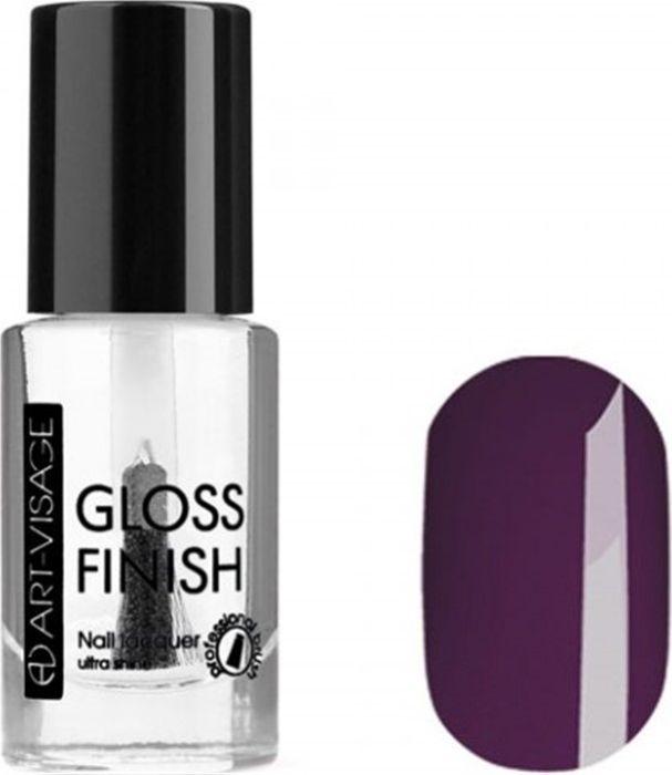 Art-Visage Лак для ногтей Gloss Finish nail lacquer, тон 126, 8,5 мл043017Новейшая гелевая текстура лака обеспечивает плотное нанесение, высокую стойкость, а также длительный мокрый эффект цвета на ваших ногтях! Красивый глянцевый цвет после первого нанесения. Безупречные ногти минимум 4 дня. Без формальдегида и толуола.