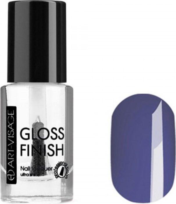 Art-Visage Лак для ногтей Gloss Finish nail lacquer, тон 129, 8,5 мл043079Новейшая гелевая текстура лака обеспечивает плотное нанесение, высокую стойкость, а также длительный мокрый эффект цвета на ваших ногтях! Красивый глянцевый цвет после первого нанесения. Безупречные ногти минимум 4 дня. Без формальдегида и толуола.