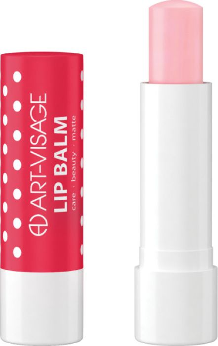 Art-Visage Бальзам для губ/Lip balm bubble gum, 4,5 г бальзамы hurraw бальзам для губ hurraw mint lip balm