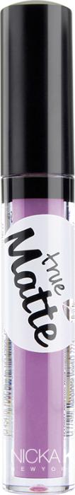 Nicka K NY True Matte Lip Color губная помада, 3,5 г, оттенок VIVID ORCHID017398Приятная кремовая текстура, обеспечивающая устойчивое покрытие и благородную матовость. Матовый блеск для губ с аппликатором наносится в 1 или 2 слоя в зависимости от того, насколько яркое покрытие вы хотите получить.Какая губная помада лучше. Статья OZON Гид