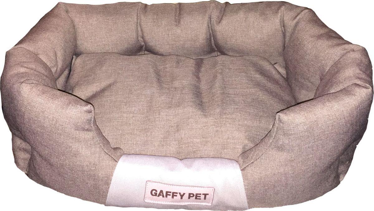 Лежак для животных Gaffy Pet One, цвет: латте, 55 х 35 х 23 смЛО3тзЛежак для животных Gaffy Pet обязательно понравится вашему питомцу. Верх лежака выполнен из плотного текстиля. В качестве наполнителяиспользуется мягкий холлофайбер. Изделие имеет высокие бортики, которые отлично держат форму. Использованиепрофессиональных тканей дает владельцам питомцев большое преимущество в чистке и уходе без ущерба внешнему виду. Такой лежакпрекрасно впишется в любой современный интерьер.