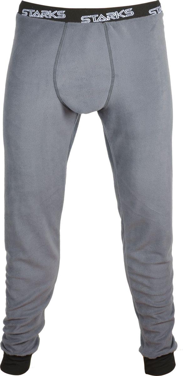 Кальсоны Starks Warm Fleece Pants, цвет: серый. Размер: MLC0056_серый_M