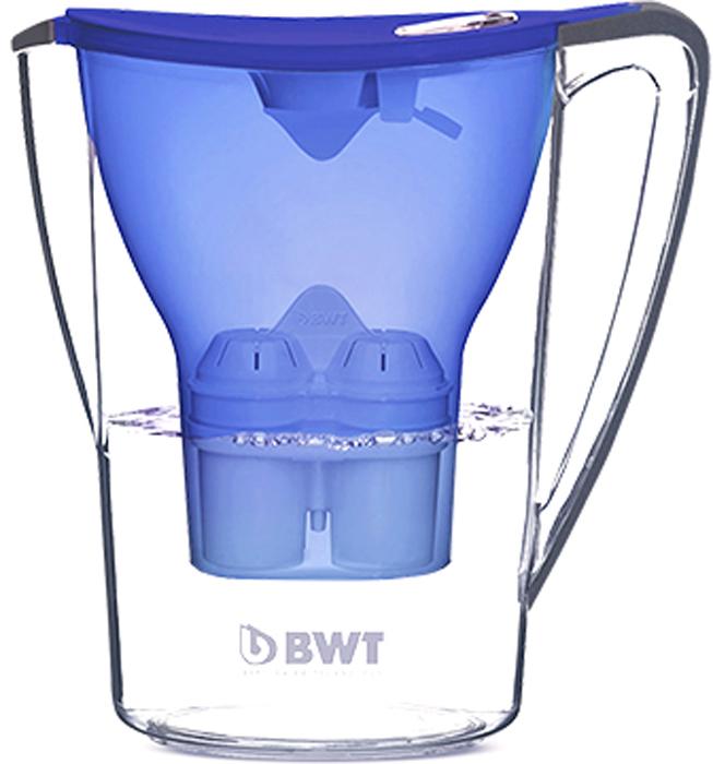 Фильтр-кувшин для доочистки воды BWT Пингвин, цвет: синий анчан, 2,7 л фильтр для воды bwt в251р00 penguin