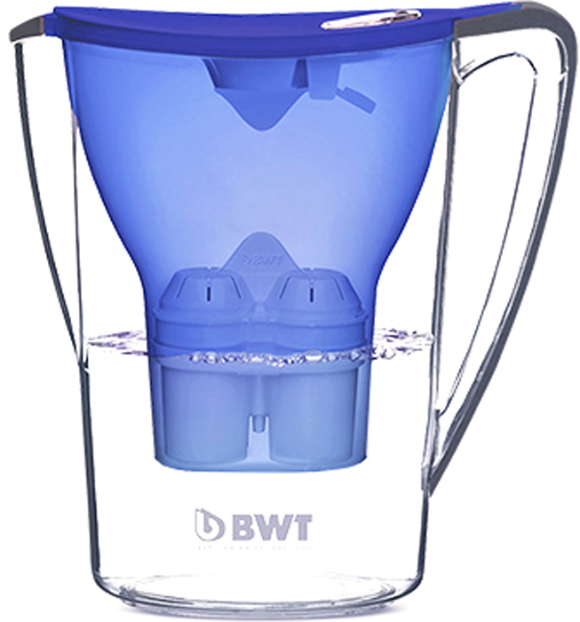 "Фильтр-кувшин для доочистки воды BWT ""Пингвин"", цвет: синий анчан, 2,7 л, BWT-Барьер"