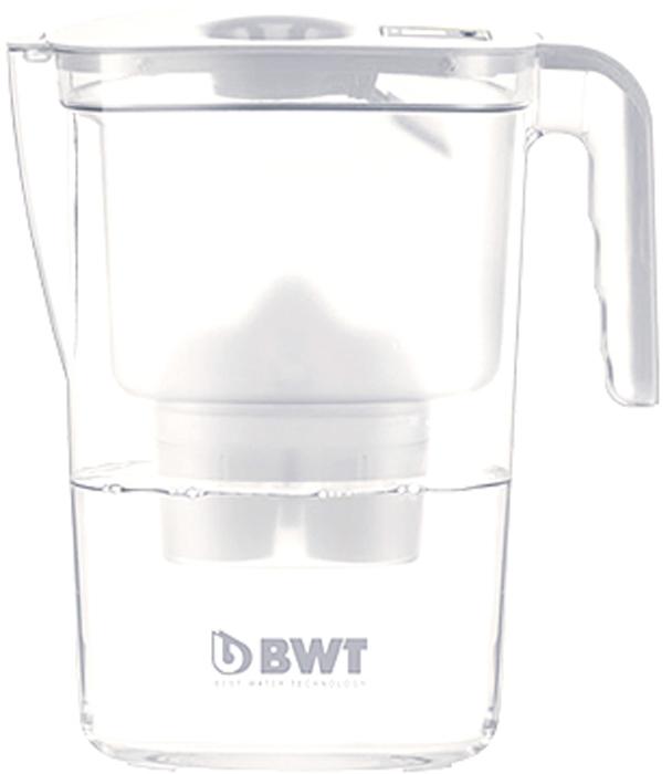 Фильтр-кувшин для очистки воды BWT Вида, цвет: белый, 2,6 л9022001903426Настольный инновационный фильтр-кувшин с запатентованной функцией обогащения воды магнием BWT Вида имеет яркий, современный и стильный вид. Его привлекательный дизайн в сочетании с превосходными эргономическими свойствами отражает современную школу скандинавского дизайна, а благодаря яркому цвету он займет центральное место на любой кухне.Особенности:- Современный дизайн, разработан итальянскими дизайнерами и художниками.- Европейское качество кувшина. - Емкость кувшина 2,6 л, воронки - 1,4 л.- Система Easy–Fill - возможность наполнять кувшин, не снимая крышки.- Автоматическое открывание и закрывание крышки при наполнении водой.- Конструкция кувшина защищает от попадания пыли и неочищенной воды в отфильтрованную воду. - Уникальная конструкция воронки позволяет наливать воду, не дожидаясь окончания фильтрации.- Прочный и удобный носик на кувшине.- Механическийиндикатор ресурса – удобный и информативный индикатор, позволяет контролировать время использования картриджа.- Удобная прочная ручка. - Возможность размещения в двери холодильника.- В комплекте картридж BWT Magnesium Mineralizer - единственная кассета европейского качества с запатентованной функцией обогащения воды магнием. Ежедневное потребление магния крайне важно для организма человека.