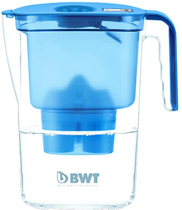 Фильтр-кувшин для очистки воды BWT Вида, цвет: синий, 2,6 л9022001904362Настольный инновационный фильтр-кувшин с запатентованной функцией обогащения воды магнием BWT Вида имеет яркий, современный и стильный вид. Его привлекательный дизайн в сочетании с превосходными эргономическими свойствами отражает современную школу скандинавского дизайна, а благодаря яркому цвету он займет центральное место на любой кухне.Особенности:- Современный дизайн, разработан итальянскими дизайнерами и художниками.- Европейское качество кувшина. - Емкость кувшина 2,6 л, воронки - 1,4 л.- Система Easy–Fill - возможность наполнять кувшин, не снимая крышки.- Автоматическое открывание и закрывание крышки при наполнении водой.- Конструкция кувшина защищает от попадания пыли и неочищенной воды в отфильтрованную воду. - Уникальная конструкция воронки позволяет наливать воду, не дожидаясь окончания фильтрации.- Прочный и удобный носик на кувшине.- Механическийиндикатор ресурса – удобный и информативный индикатор, позволяет контролировать время использования картриджа.- Удобная прочная ручка. - Возможность размещения в двери холодильника.- В комплекте кассета BWT Magnesium Mineralizer - единственная кассета европейского качества с запатентованной функцией обогащения воды магнием. Ежедневное потребление магния крайне важно для организма человека.