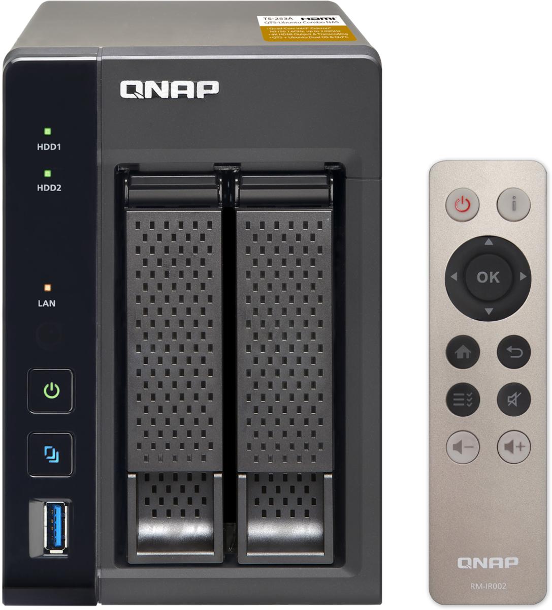 все цены на QNAP TS-253A-4G 16TB сетевое хранилище онлайн