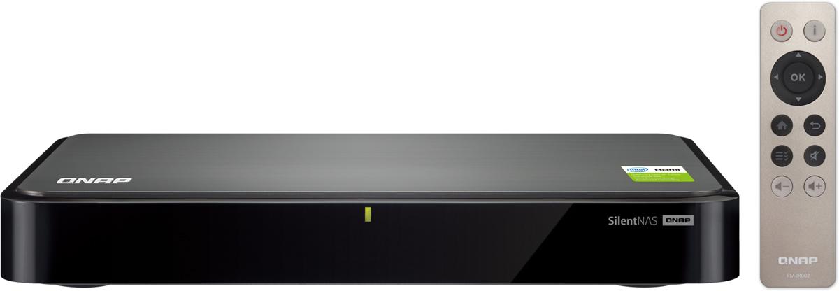 QNAP S2 20TB сетевое хранилище486139Сетевой накопитель QNAP S2 Сетевой накопитель с двумя отсеками для жестких дисков, пассивным охлаждением и HDMI-портом. Оснащен четырехъядерным проце