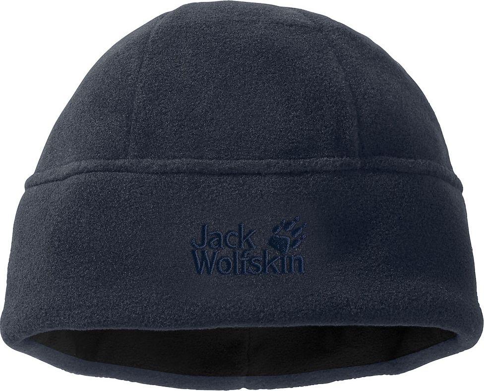 Шапка Jack Wolfskin Stormlock Cap, цвет: темно-синий. 19403_1010. Размер M (54/57)19403_1010Простая шапка из флиса марки NANUK 200 (НАНУК 200). Благодаря подкладке из ветронепроницаемой ткани STORMLOCK (ШТОРМЛОК), ваши уши защищены от холодного зимнего ветра. Шапка модели STORMLOCK CAP (ШТОРМЛОК КЭП) также очень легкая, дышащая и прочная, что делает ее прекрасным выбором для экстремального и приключенческого туризма.