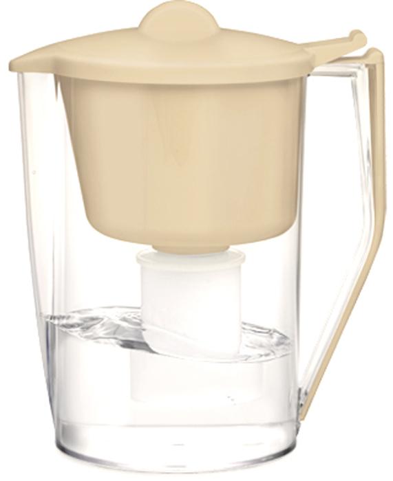 Фильтр-кувшин для очистки воды Барьер Классик, цвет: бежевый4601032991005Настольный фильтр-кувшин для очистки воды Барьер Гранд Нео изготовлен из безопасных материалов, рекомендованных для контакта с питьевой водой.Особенности:- Классическая круглая форма. - Защита от попадания загрязнений в отфильтрованную воду. Конструкция воронки защищает от попадания пыли в отфильтрованную воду.- Надежное резьбовое крепление кассеты к воронке кувшина исключает попадание неочищенной воды из воронки в отфильтрованную воду.- В комплект входит кассета Классик.