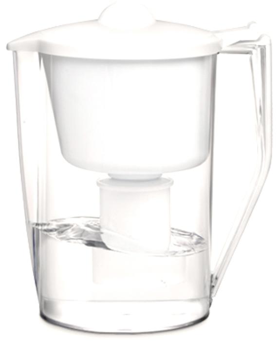 """Настольный фильтр-кувшин для очистки воды Барьер """"Классик"""" изготовлен из безопасных материалов, рекомендованных для контакта с питьевой водой.  Особенности:  - Классическая круглая форма. - Защита от попадания загрязнений в отфильтрованную воду. Конструкция воронки защищает от попадания пыли в отфильтрованную воду.  - Надежное резьбовое крепление кассеты к воронке кувшина исключает попадание неочищенной воды из воронки в отфильтрованную воду.  - В комплект входит кассета """"Классик""""."""