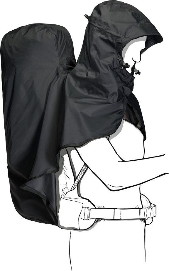 Чехол для рюкзака Jack Wolfskin Raincover 40-60L, от дождя, цвет: темно-серый, 40-60 л. 8002711-63508002711-6350Непромокаемый чехол RAINCOVER (РЭЙНКАВЕР) справится с любыми осадками, от внезапного горного ливня, до затяжного ирландского дождя. Модель подходит для туристических рюкзаков объемом 40-60 литров. Чехол не мешает регулировать подвесную систему рюкзака. Затяжка на шнурке позволяет надеть чехол легко и быстро. Просто натяните его на рюкзак, отрегулируйте по размеру - и готово! При необходимости, чехол можно компактно сложить и хранить в рюкзаке.