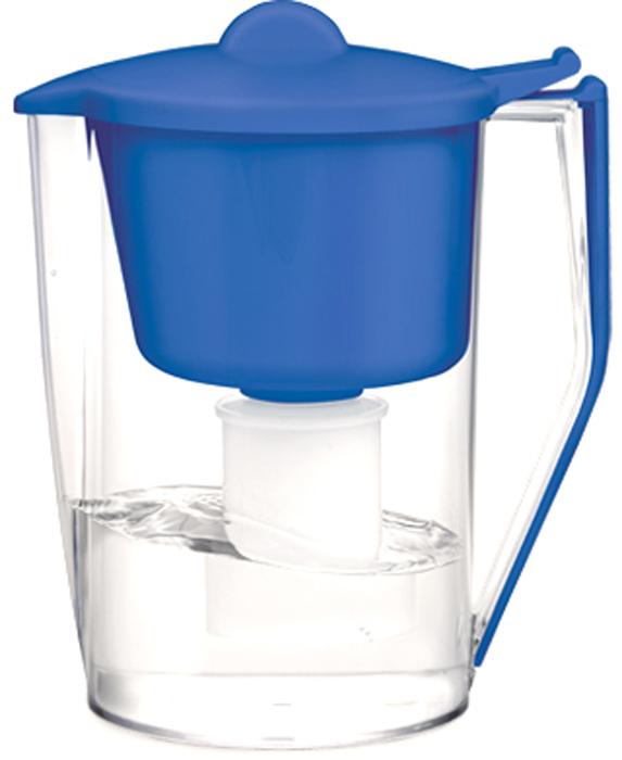Фильтр-кувшин для очистки воды Барьер Классик, цвет: синий4601032991012Настольный фильтр-кувшин для очистки воды Барьер Классик - это кувшин большого объема по доступной цене. Кувшин изготовлен из безопасных материалов, рекомендованных для контакта с питьевой водой.Особенности: - Классическая круглая форма.- Защита от попадания загрязнений в отфильтрованную воду. Конструкция воронки защищает от попадания пыли в отфильтрованную воду. - Надежное резьбовое крепление кассеты к воронке кувшина исключает попадание неочищенной воды из воронки в отфильтрованную воду. - В комплект входит кассета Классик.