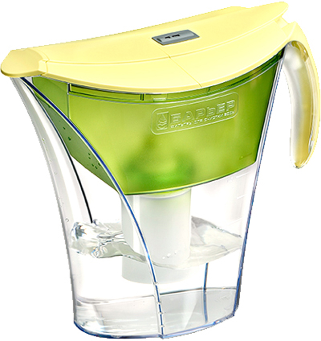 Фильтр-кувшин для очистки воды Барьер Смарт, цвет: фисташковый4601032992132Настольный фильтр-кувшин для очистки воды Барьер Смарт - это кувшин с усовершенствованным эргономичным дизайном и механическим индикатором ресурса. Кувшин изготовлен из безопасных материалов, рекомендованных для контакта с питьевой водой.Особенности: - Уникальная конструкция воронки позволяет наливать чистую воду, не дожидаясь окончания фильтрации.- Откидная секция крышки. Наполняйте кувшин, не снимая крышки.- Надежное резьбовое крепление кассеты к воронке кувшина исключает попадание неочищенной воды из воронки в отфильтрованную воду. - В комплект входит кассета Стандарт.