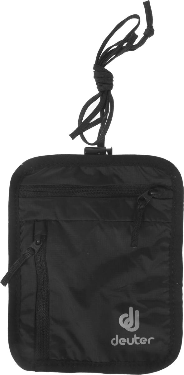 Кошелек Deuter Security Wallet, цвет: черный, 17 х 13 см