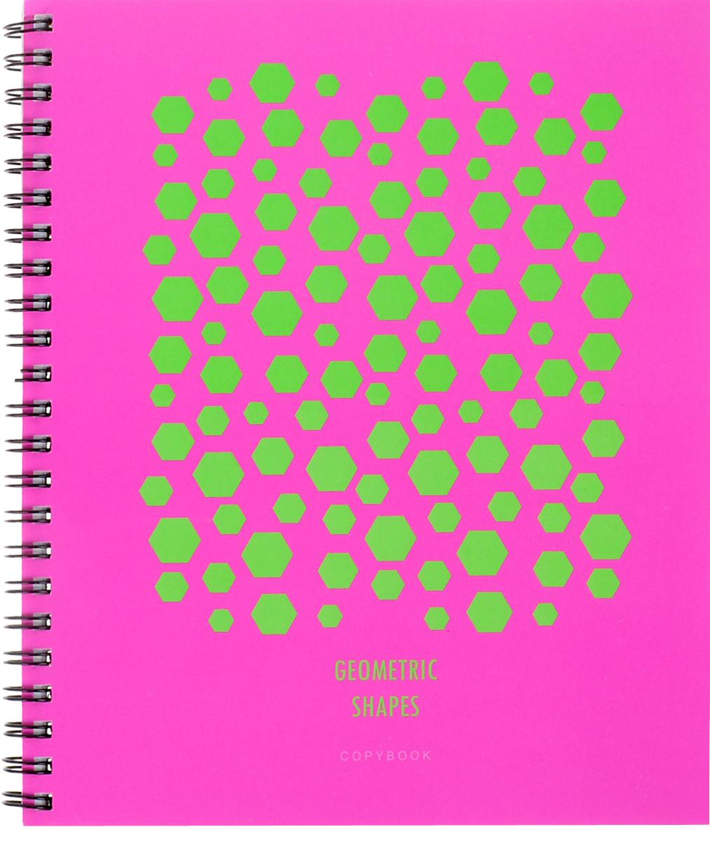 Канц-Эксмо Тетрадь Насыщенные цвета цвет розовый салатовый 96 листов в клеткуТСЛ965230_розовый с салатовымТетрадь общая Канц-Эксмо Насыщенные цвета формат А5, 96 листов в клетку. Крепление - гребень. Обложка: мелованный картон, пантонная печать, выборочный лак. Внутренний блок: бумага офсетная 60 г/м2.