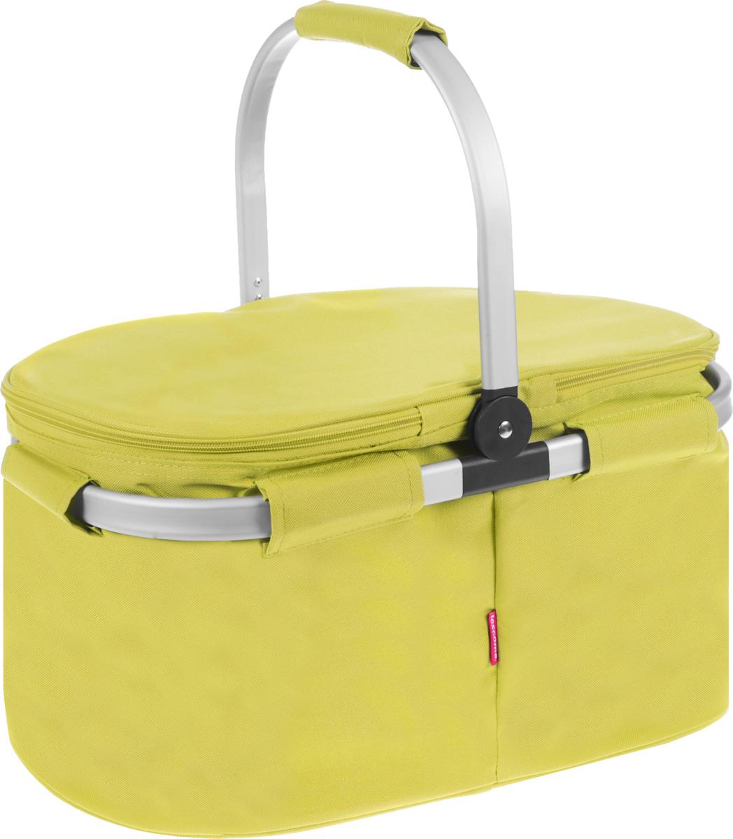 Термокорзина складная Tescoma Coolbag, цвет: желтый. 892350892350_желтый