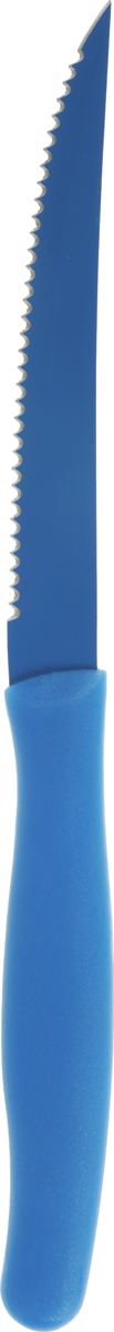 Нож кухонный Banquet, цвет: синий, 23,5 см25LI30003_синийНож для ежедневного использования Banquet изготовлен из высококачественного прочного металла. Эргономичная рукоятканожа и малый вес изделия обеспечивает особый комфорт при использовании. Не использовать в СВЧ и посудомоечной машине.