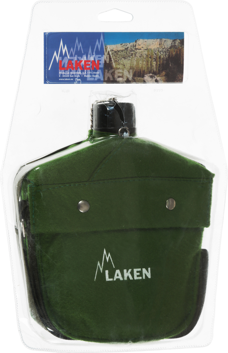 Фляга Laken Anatomica, с чехлом, цвет: зеленый, 1 л201Удобная фляга Laken Anatomica в неопреновом чехле со специальным ремнем позволит взять любимый напиток в поездку или путешествие.Особенности:Объем: 1 литрРазмеры: 20 x 18 x 5 см Ширина горлышка: 2,2 см Вес: 246 грМатериал: алюминий.