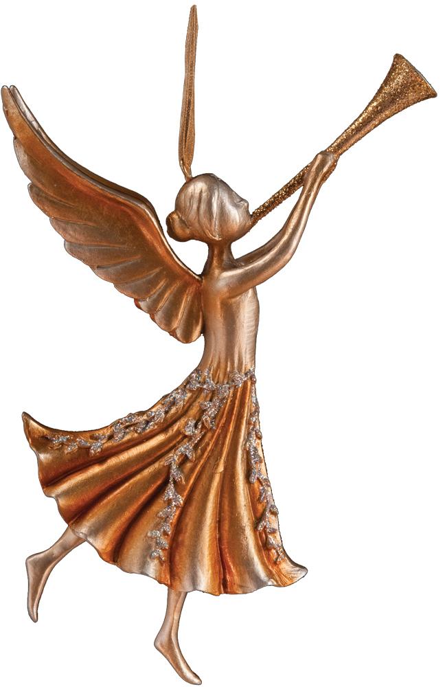 Украшение для интерьера новогоднее Erich Krause Ангел с дудочкой, 11 см33683Ангел является одним из самых популярных новогодних украшений. Модель изящная и утонченная, деликатно декорирована золотыми блестками. Представлено две модели в ассортименте. Выбор не предусмотрен. Упаковка - полибэг.