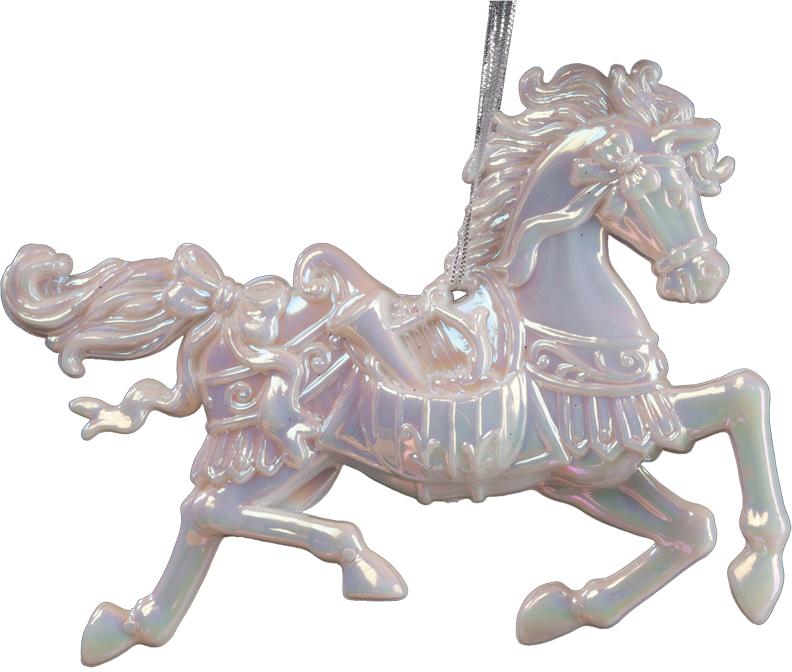 Украшение для интерьера новогоднее Erich Krause Конь белогривый, 10 см36076Грациозный конь выполнен в перламутровом цвете и декорирован блестками. Фигурки животных всегда пользуются большой популярностью, и спрос на них является стабильно высоким. Представлено две модели в ассортименте. Выбор модели невозможен. Упаковка - полибэг.