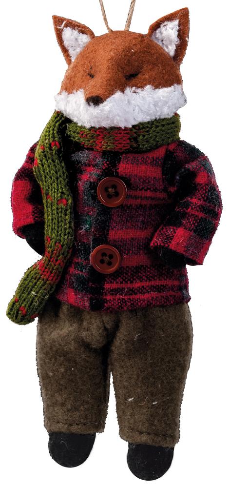 Украшение для интерьера новогоднее Erich Krause Лисица в костюмчике, 16,5 см43414Очаровательная лисичка в теплом наряде выполнена из текстиля. Мягкая и приятная на ощупь, игрушка станет замечательным подарком, а также отличным украшением праздничного интерьера. Новогодние украшения всегда несут в себе волшебство и красоту праздника. Создайте в своем доме атмосферу тепла, веселья и радости, украшая его всей семьей.