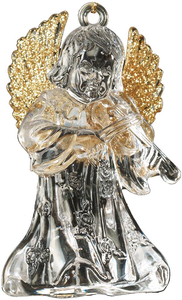 Украшение для интерьера новогоднее Erich Krause Ангел музыки, 8 см40265Ангел является одним из самых популярных новогодних украшений. Данное изделие отличается плавным переходом от прозрачного к золотому цвету. В руках у ангела находится музыкальный инструмент, а его крылья деликатно присыпаны блестками. Новогодние украшения всегда несут в себе волшебство и красоту праздника. Создайте в своем доме атмосферу тепла, веселья и радости, украшая его всей семьей.