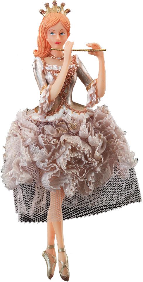 Украшение для интерьера новогоднее Erich Krause Воздушный танец, 16,5 см41093Изящность балерины подчеркивает изысканное платье из тафты. Корона завершает благородный образ. Новогодние украшения всегда несут в себе волшебство и красоту праздника. Создайте в своем доме атмосферу тепла, веселья и радости, украшая его всей семьей.