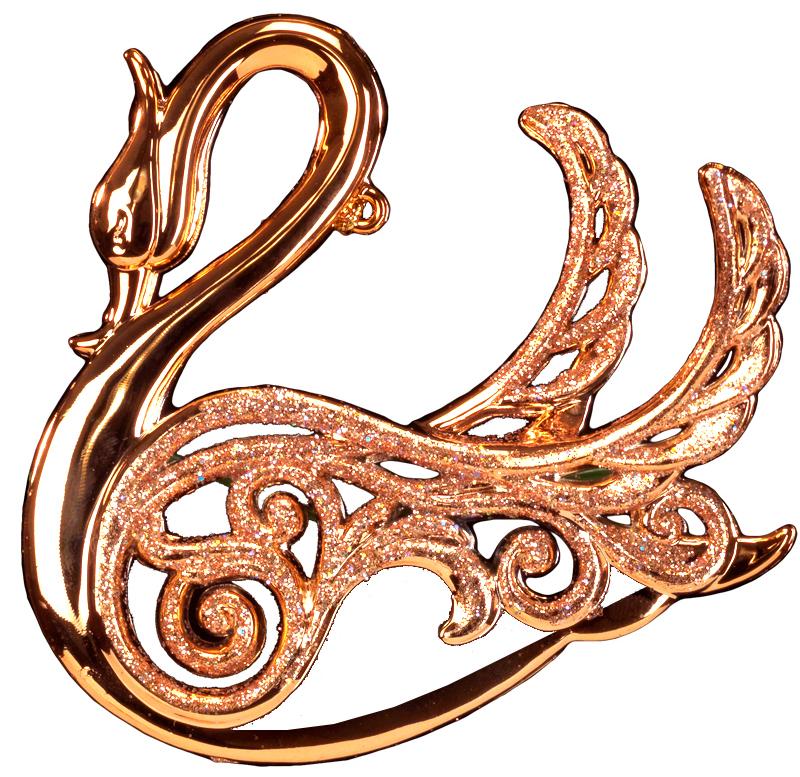 Украшение для интерьера новогоднее Erich Krause Лебединая песня, 10 см43403Изящный лебедь выполнен в цвете розового золота и декорирован блестками. Фигурки животных всегда пользуются большой популярностью, и спрос на них является стабильно высоким. Новогодние украшения всегда несут в себе волшебство и красоту праздника. Создайте в своем доме атмосферу тепла, веселья и радости, украшая его всей семьей.